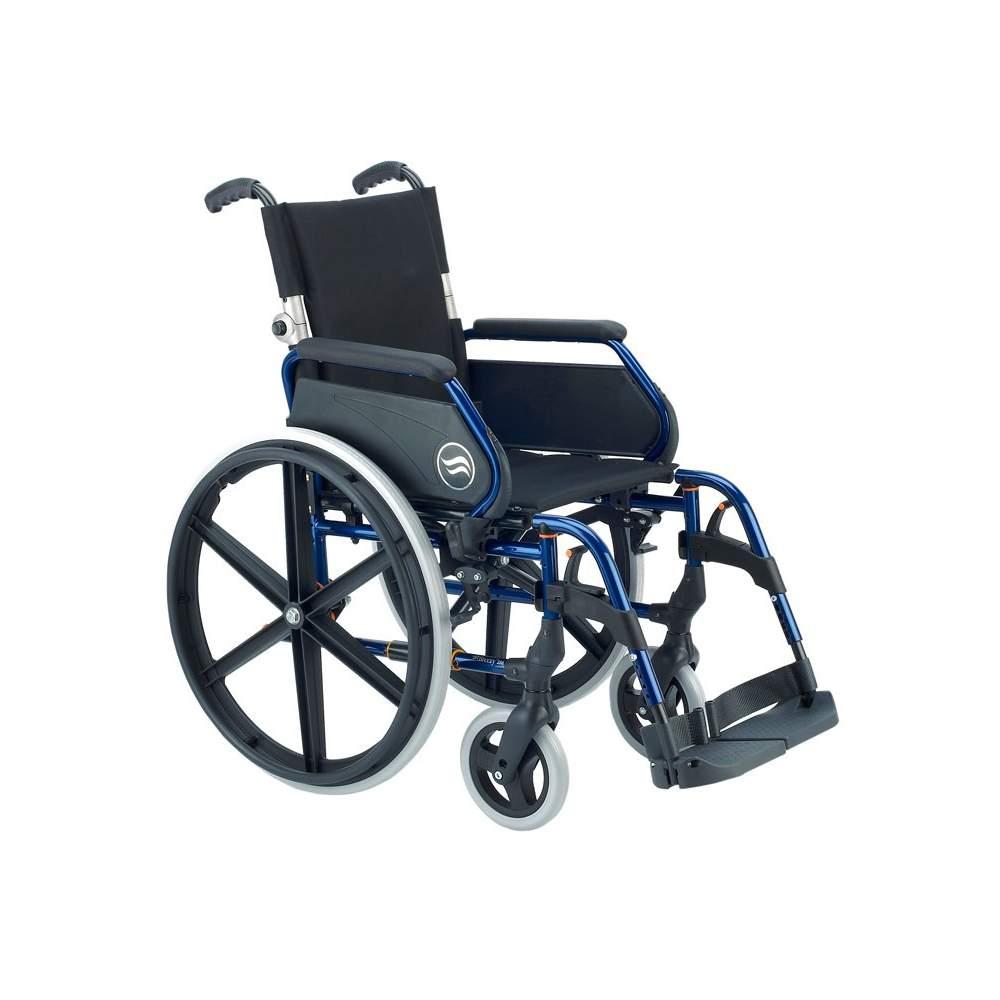 Breezy 250P - Silla de ruedas de acero plegable respaldo partido - Silla de ruedas plegable Breezy 250 autopropulsable ruedas grandes y respaldo partido, permite un mejor transporteLa silla de ruedas de acero con más modelos y opciones. Y con...