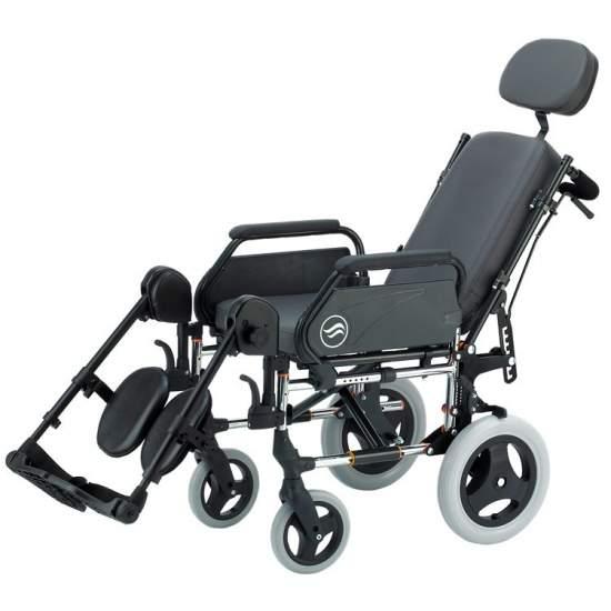 Breezy 250R - acier en fauteuil roulant pliant pas autopropulsable