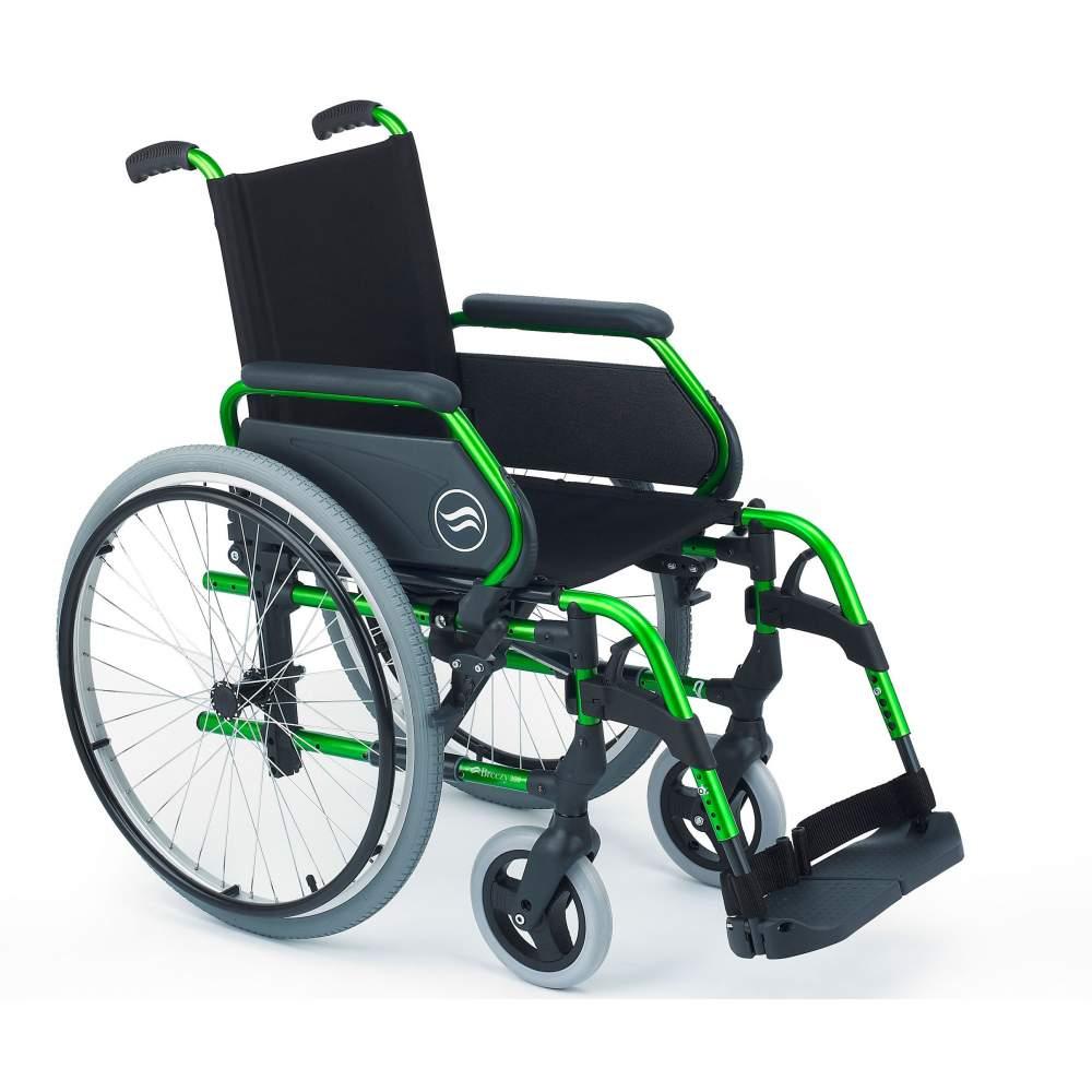 Breezy 300 - Silla de ruedas de aluminio plegable - Silla de ruedas plegable Breezy 300 autopropulsable ruedas grandesLa silla de ruedas de aluminio con más modelos y opciones. Y con el mejor servicio