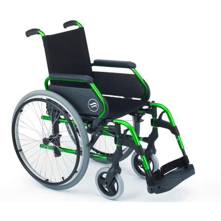 acier de pliage en fauteuil roulant - Breezy 250