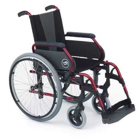 Breezy 250 - Wheelchair folding steel