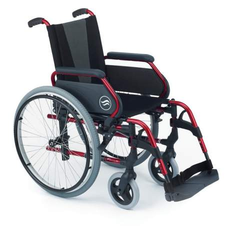 dobrável de aço cadeira de rodas - 250 Breezy