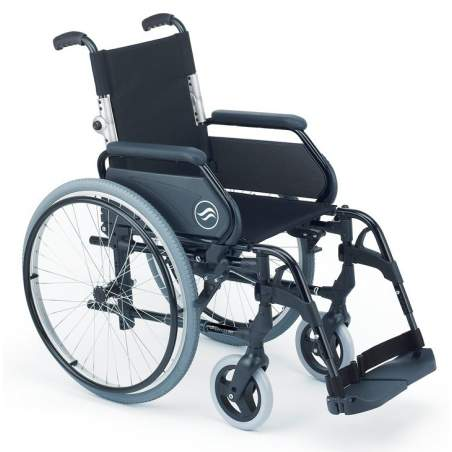 Breezy 300 - Silla de ruedas de aluminio plegable