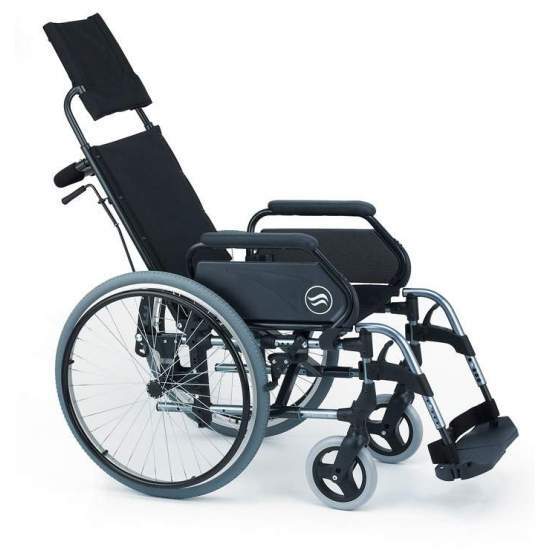 Breezy 300R - Wheelchair folding aluminum - Folding wheelchair Breezy 300R autopropulsable large wheels and reclining backrest  The aluminum wheelchair with more models and options. And with the best service
