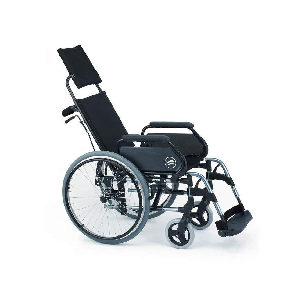 Breezy 300R - Silla de ruedas de aluminio plegable