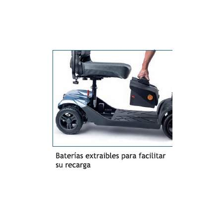 Scooter desmontable Apex i-Confort