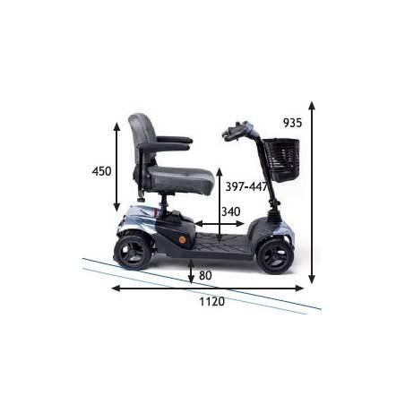Scooter desmontable Apex i-Confort
