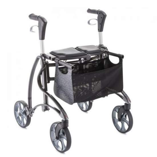 Rollator Dolomite Jazz Andador - Invacare Dolomite Jazz, a safe rollator with a modern and attractive appearance.