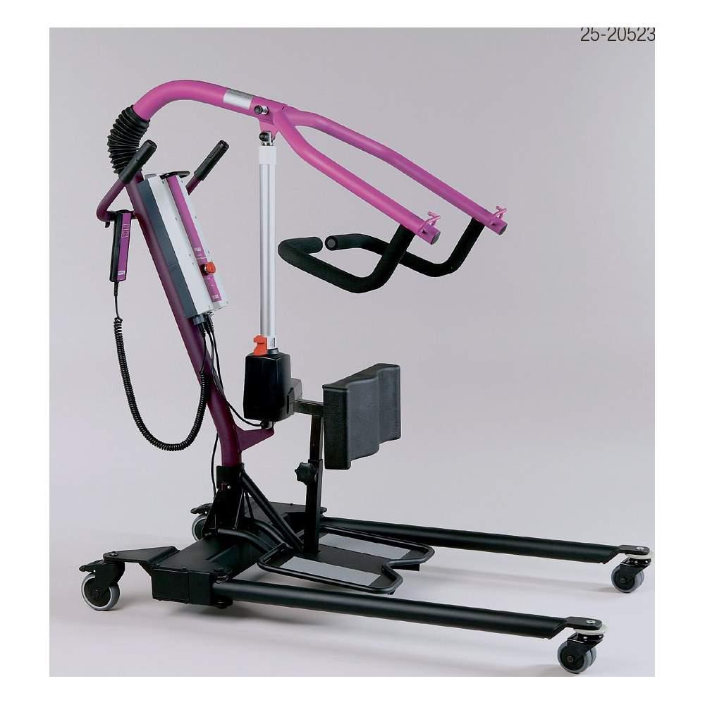 Grúa Ropox Todo en Una - Con la Grúa todo en una es posible elevar al paciente desde el suelo. Grúa Walking Trainer