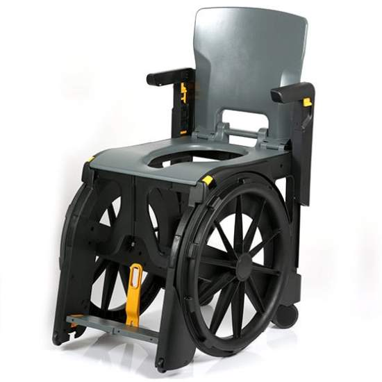 Wheelable shower chair - Seatara