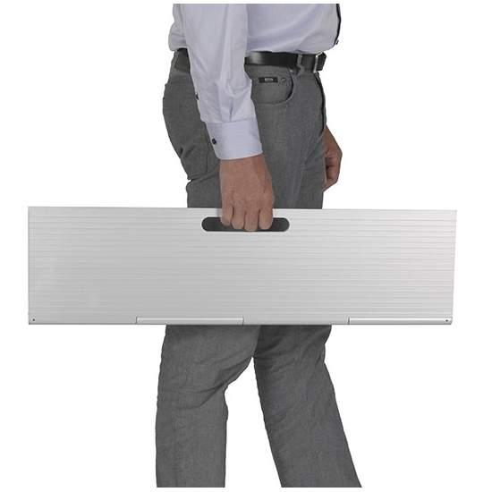 Scala Mini rampa portatile -  rampa portatile per le sedie a rotelle e scooter
