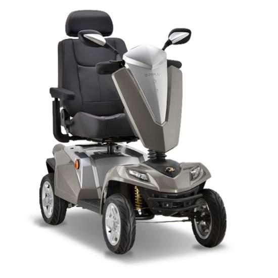 Scooter Kymco Maxer - El Scooter Maxer es un vehículo de movilidad de gran tamaño y gama superior. Con sus prestaciones y la más avanzada tecnología, no habrá nada que se le resista. Recomendado para viajes largos incluso en terreno irregular.