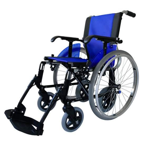 Silla de ruedas Forta LINE-DÚO - La silla de ruedas Line-Dúo de Forta cuenta con 4 ruedas traseras, dos de 600 mm y dos de 250mm, las cuales podrás intercambiar fácilmente para realizar tareas distintas (por ejemplo fuera/dentro de casa) o para atravesar puertas o...