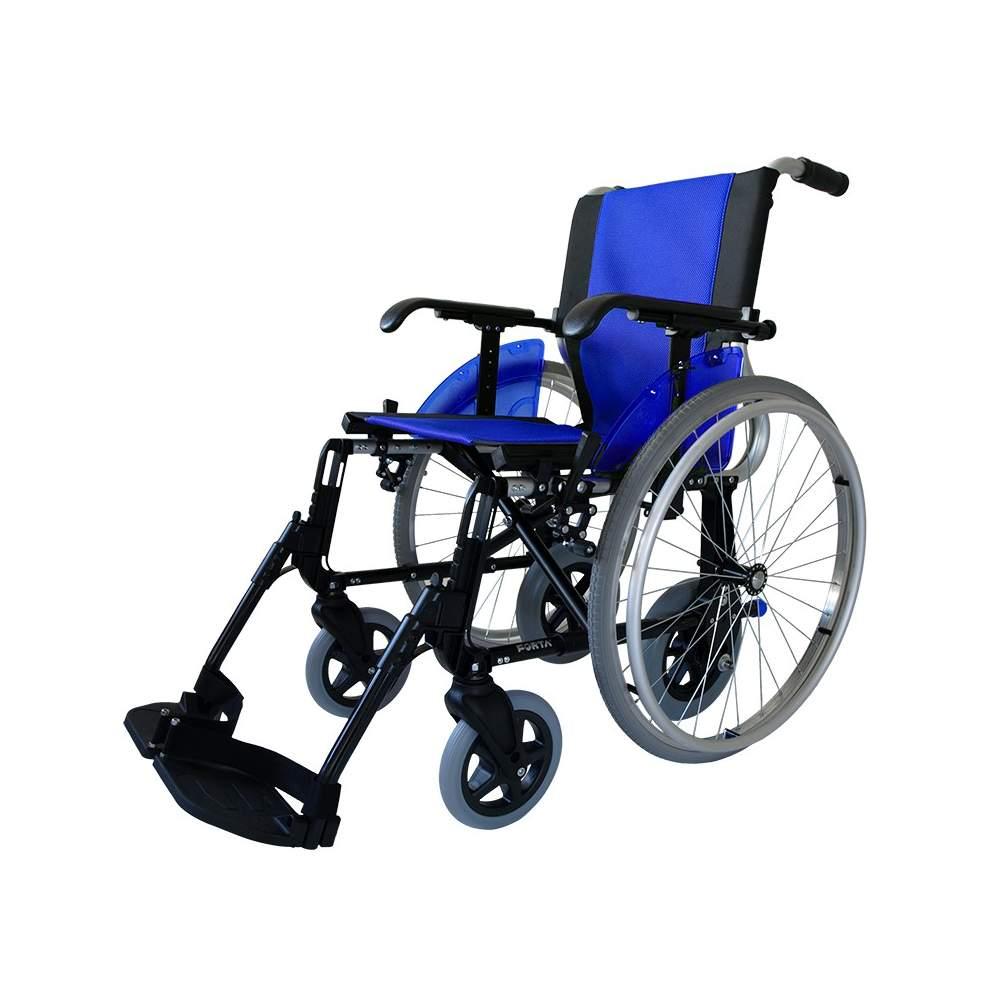 Silla de ruedas Forta LINE-DÚO - La silla de ruedas Line-Dúo de Forta cuenta con 4 ruedas traseras, dos de 600 mm y dos de 250mm, las cuales podrás intercambiar fácilmente para realizar tareas distintas (por...
