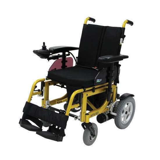 rodas cadeira Kymco Vivio - Cadeira de rodas dobrável Kymco Vivio