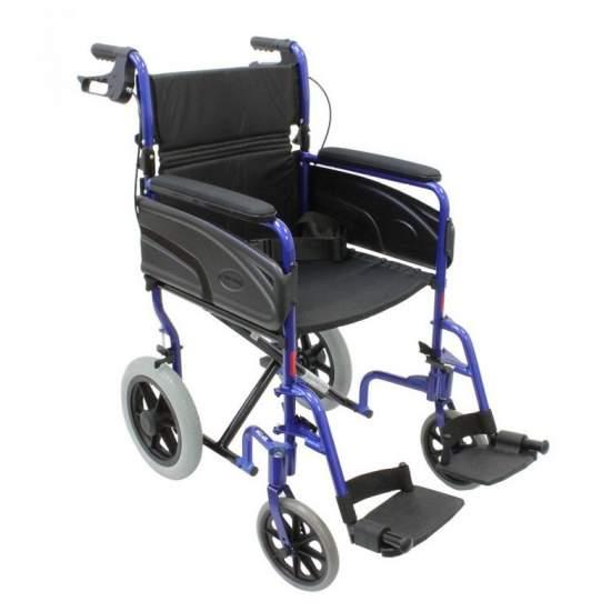 Cadeira de rodas ultralight Invacare Alu Lite -  A Invacare Alulite é uma roda cadeira de peso leve, feito inteiramente de alumínio, que tem um peso baixo para um manuseamento confortável e fácil transporte.