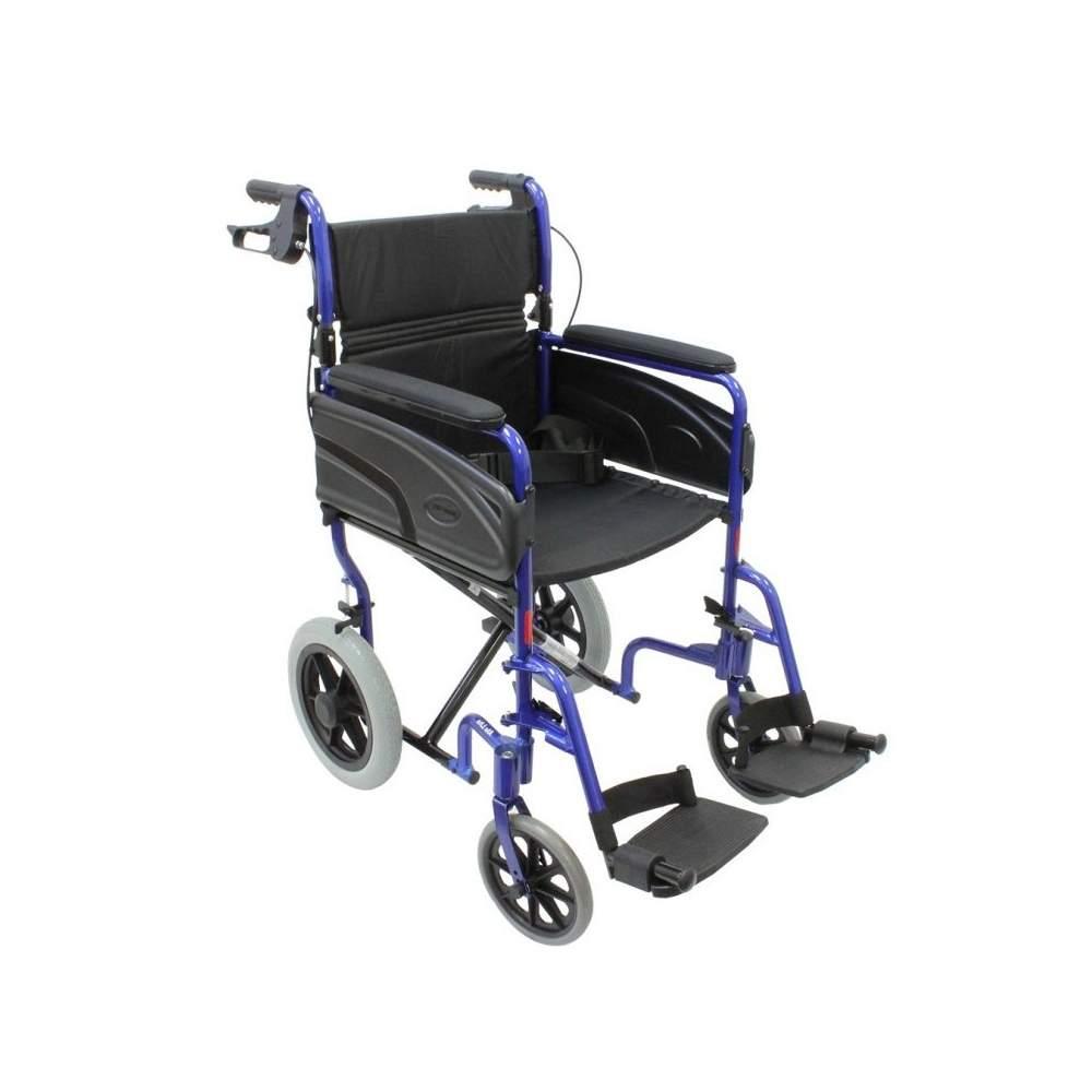 Silla de Ruedas Ultraligera INVACARE Alu Lite - La Invacare ALULITE es una silla de ruedas ultraligera, fabricada íntegramente en alumnio, que posee un peso reducido para una maniobrabilidad cómoda y un fácil transporte.