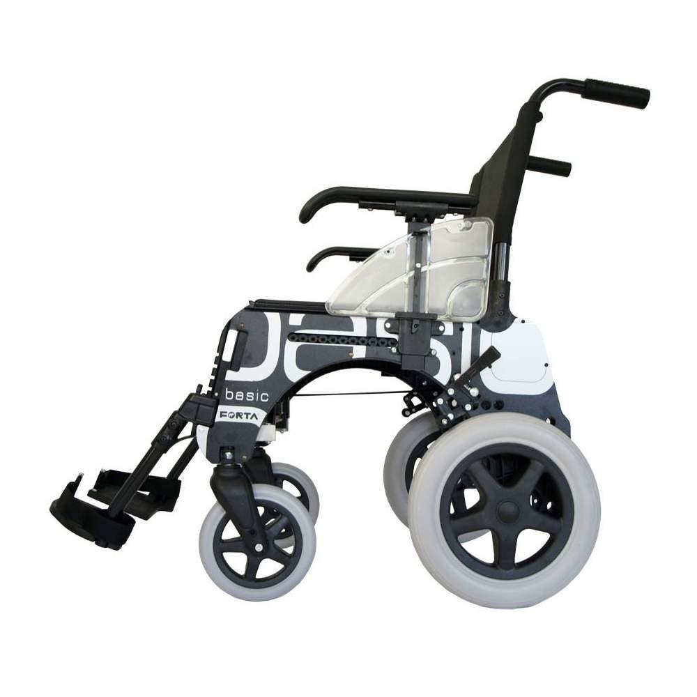 Basic sedia a rotelle piccole ruote 300 millimetri for Sedia a rotelle ruote piccole