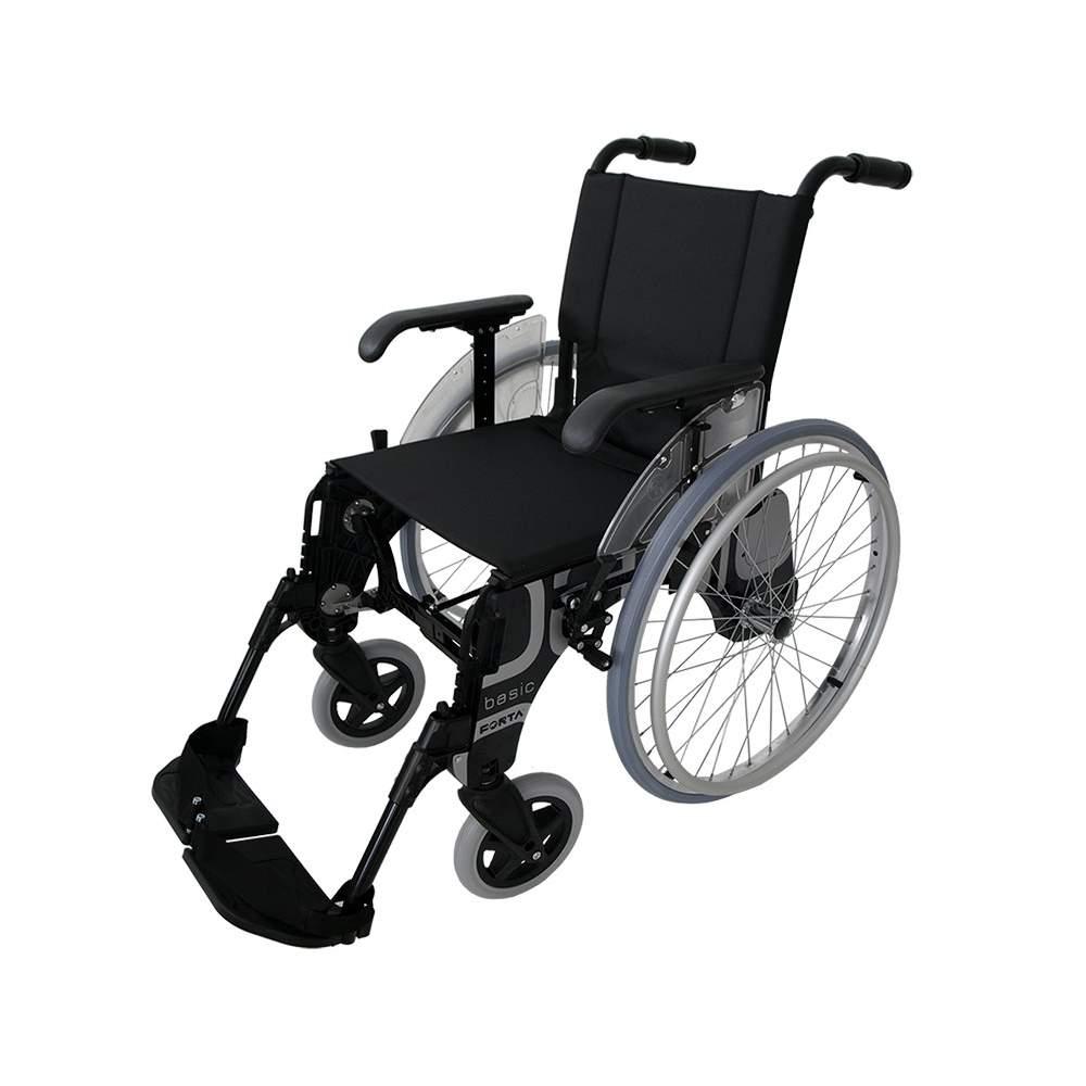 Sedia a rotelle ruote di grandi dimensioni base 600 mm - Dimensioni sedia ...