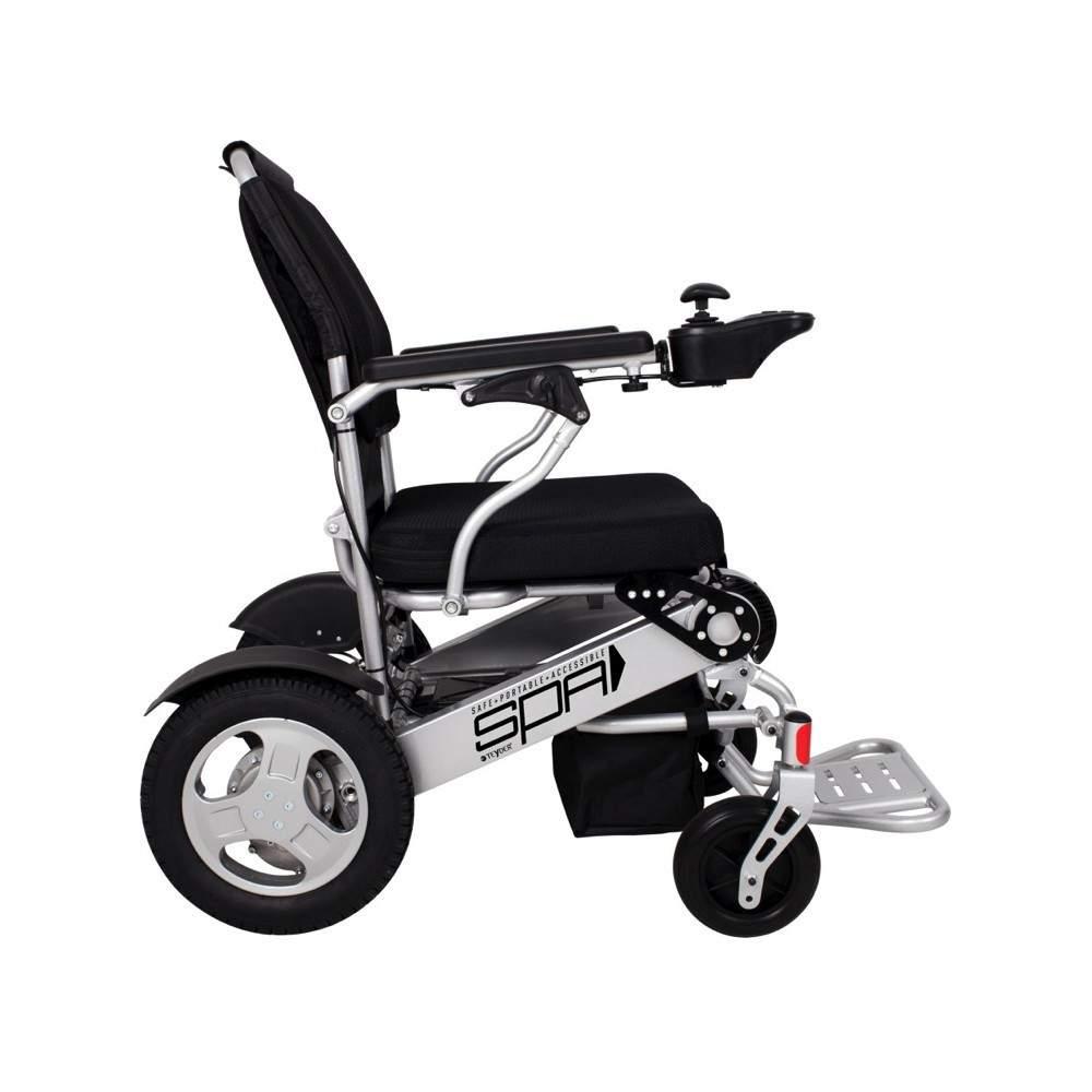 Silla de ruedas plegable spa 1463se 250w for Silla de ruedas