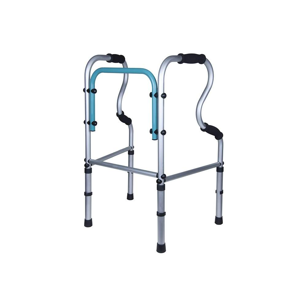Andador Fijo de aluminio Forta - AF - Andador de pasos Fijo
