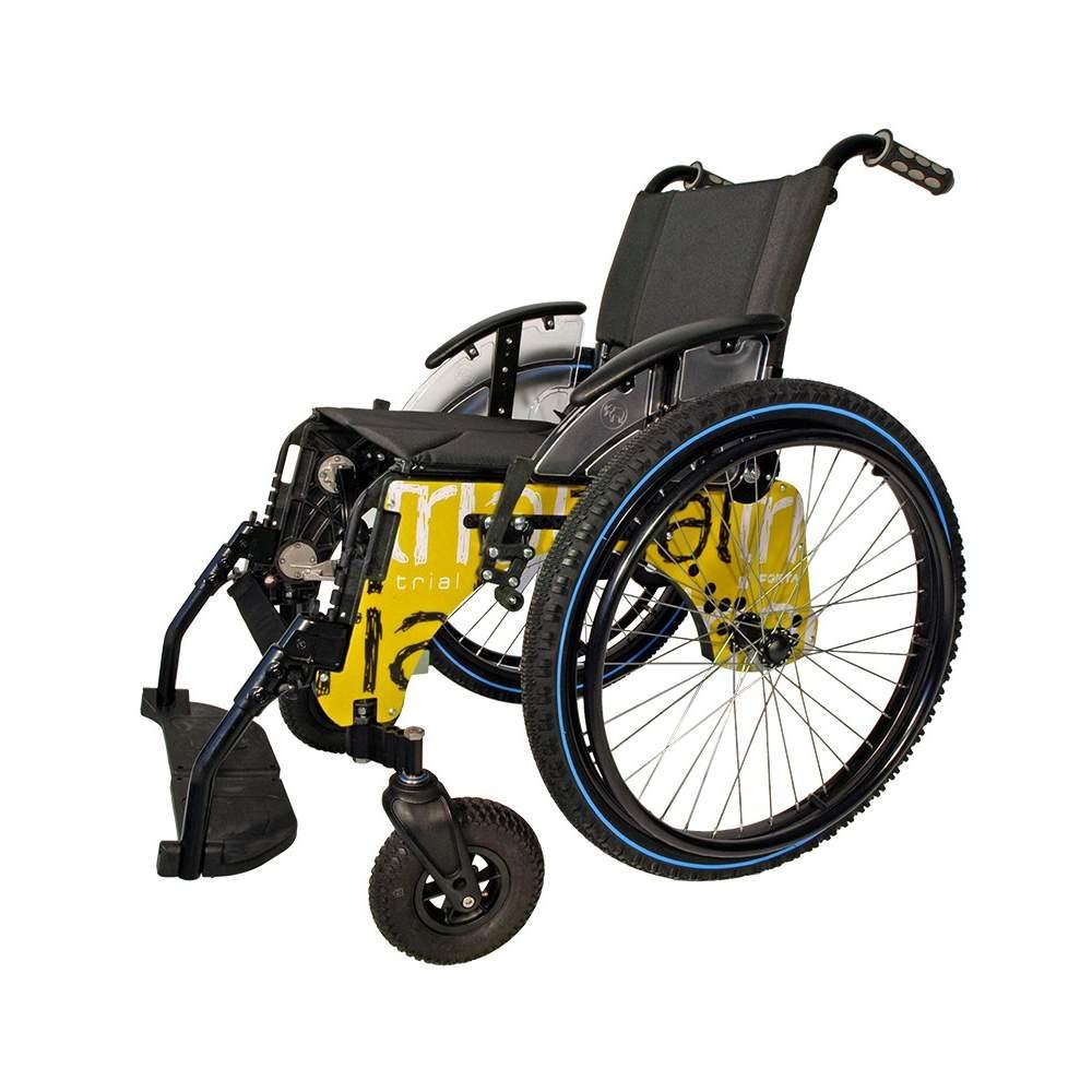 Pays d'essai en fauteuil roulant actif