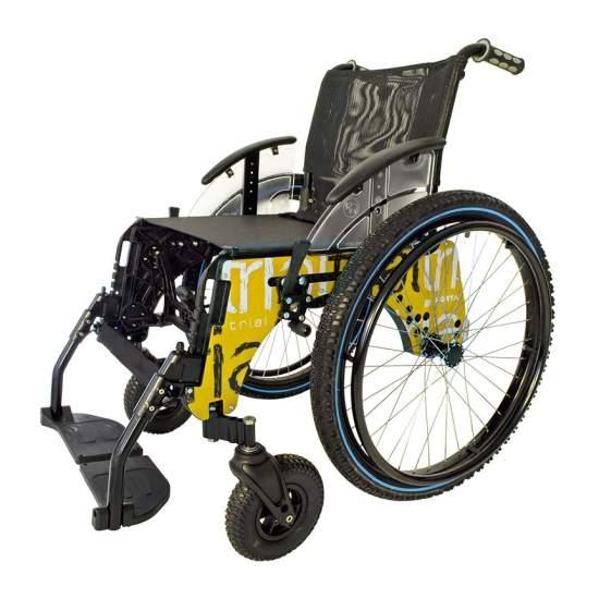 TRIAL sedia a rotelle BEACH sommergibile -  La spiaggia di sedia a rotelle di prova Forta è progettato per l'uso nelle piscine e in spiaggia (sia all'interno l'acqua per muoversi attraverso la sabbia). Si può facilmente diventare una sedia a rotelle normale quando la stagione...