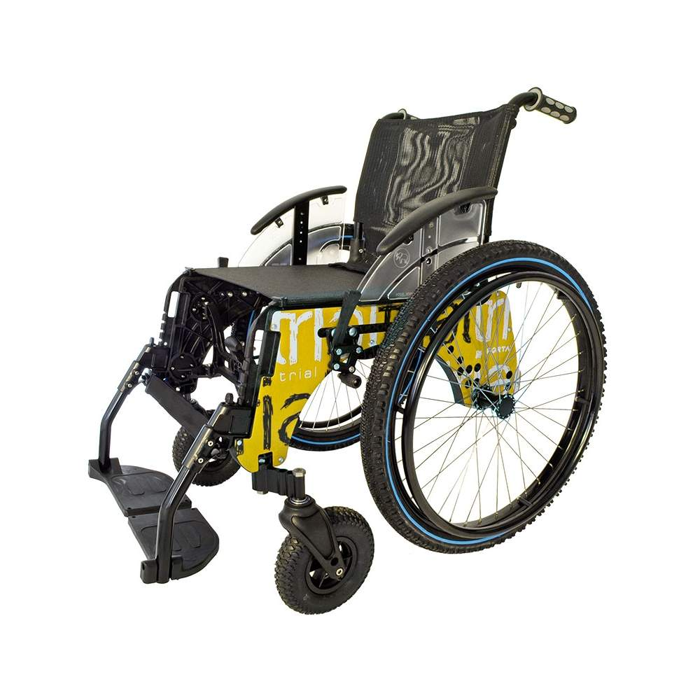TRIAL wheel chair submersible BEACH -  The wheelchair Trial beach Forta is designed for use in swimming pools and on the beach (both within the water to move through the sand). You can easily become a normal...