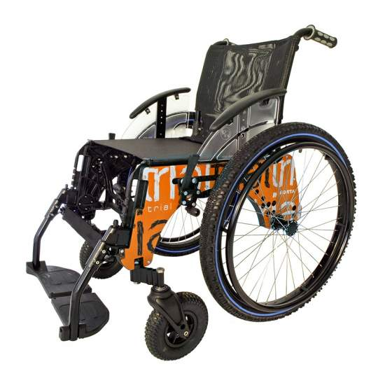 Wheelchair TRIAL PLAYA submersible