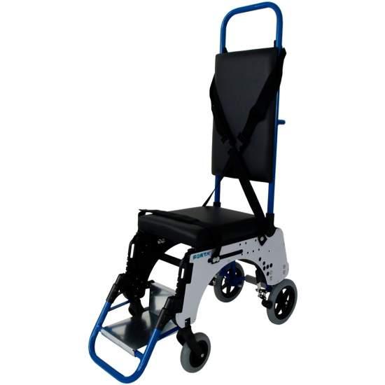 aeronaves de corredor para cadeira de rodas -  A cadeira de rodas do avião Salão de Forta foi especialmente mão de uma companhia aérea líder concebido na Europa para uso em aeronaves. Foi especialmente concebido para o transporte de pessoas aviões Focker, corredor estreito.
