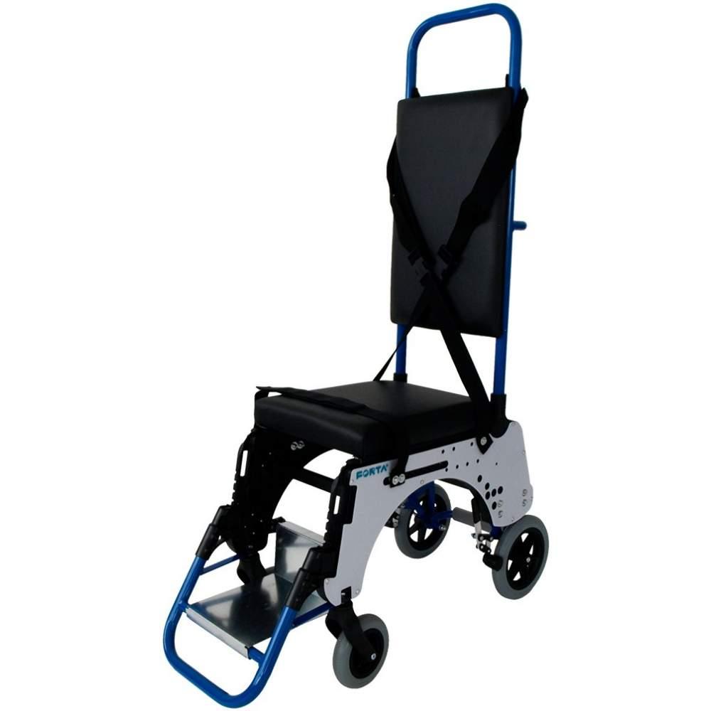 Silla de ruedas para pasillo de avión - La silla de ruedas de Pasillo de Avión de Forta fue diseñada especialmente de la mano de una compañía aérea líder en Europa para ser utilizada dentro de los aviones. Fue...
