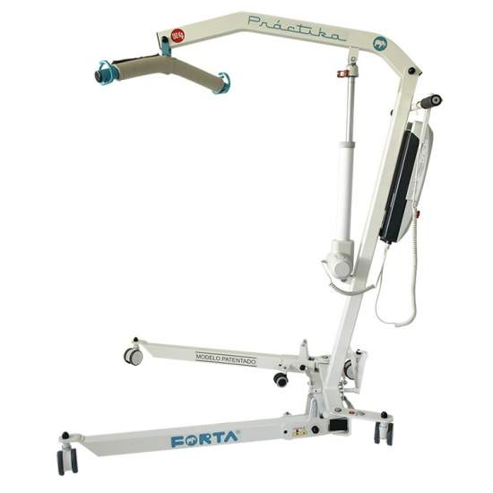 Lifting crane Practika of Forta - The lifting crane PRACTIKA FORTA is designed to facilitate the movement of people with immobility. Its folding system makes it the smallest in the market when folded and can be easily stored in small spaces. It has an improved opening...