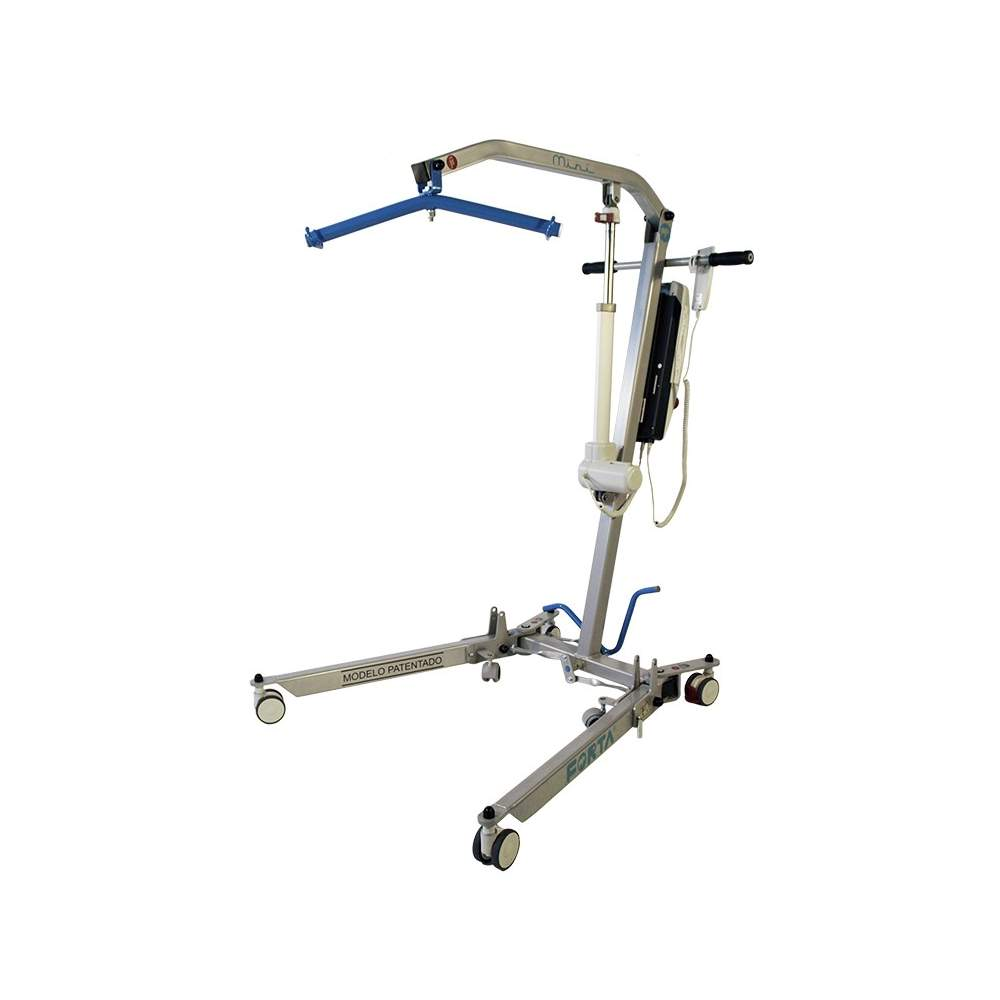 Lifting crane mini Forta -  The new crane lifting Forta mini is even smaller than the PRACTIKA, winning some vital centimeters to get through some doors and narrow passages. Of course, it is foldable and...