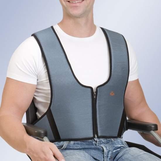 Zip Vest Arnetec - Vest cadeira zip fixação
