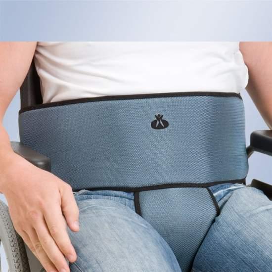 Abdominal e perineal pedaço cinto Arnetec Orliman - clipe de cinto para cadeira