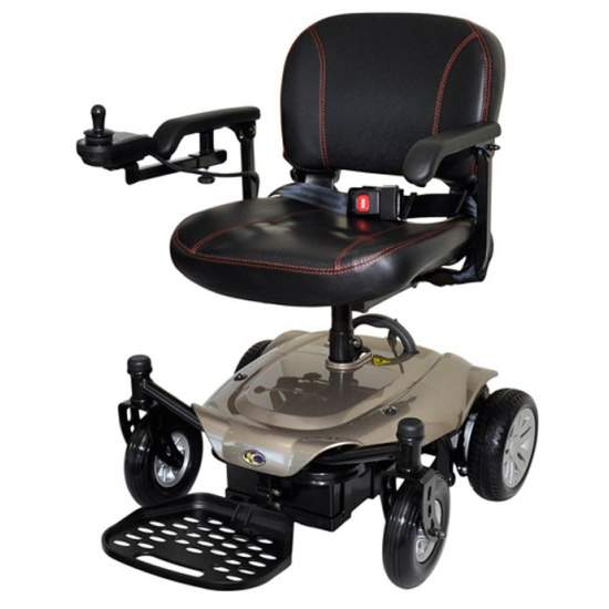 Fauteuil roulant président Kymco K - Le nouveau fauteuil roulant électrique amovible k-président a été conçu avec deux éléments à l'esprit