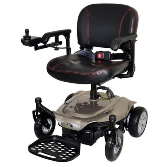 Silla de ruedas K Chair de Kymco - La nueva silla de ruedas eléctrica desmontable k-chair ha sido diseñada con dos elementos en mente