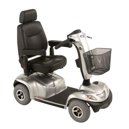 Invacare Orion -  Scooter eléctrico Orion de Invacare que dispone de todas las características es cuanto a seguridad y estabilidad para asegurar una conducción suave y sin riesgo. Proporciona al usuario la libertad e independencia que necesita.