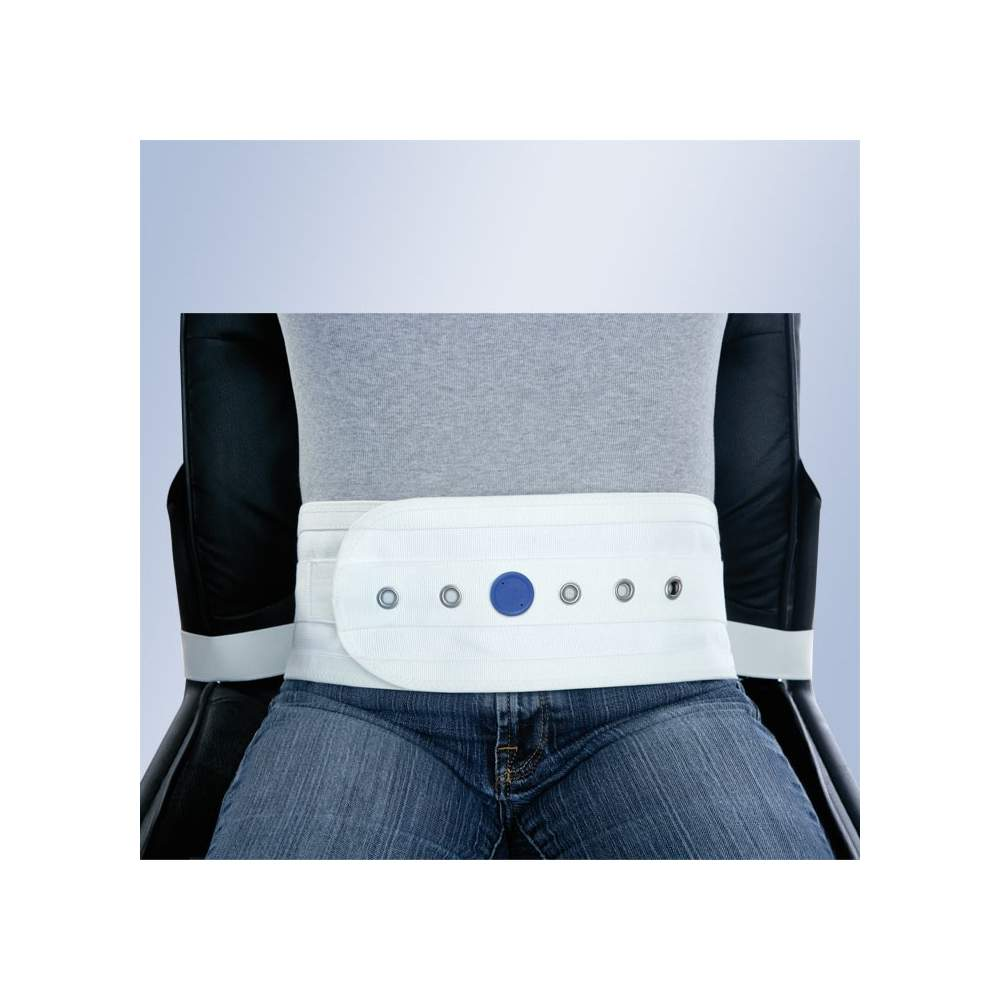 ABDOMINAL HARNESS A CHAIR OR ARMCHAIR MAGNETS WITH BUCKLE ORLIMAN