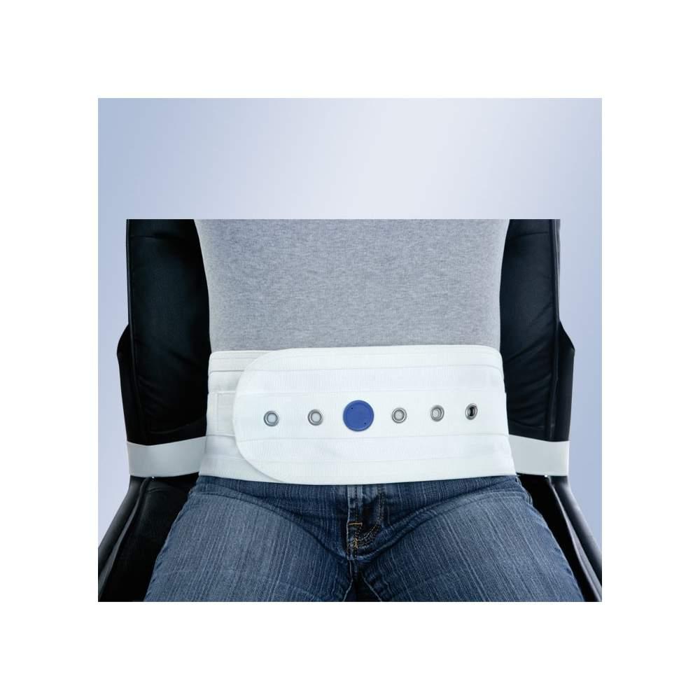 Arnes abdominale pour chaise ou fauteuil avec aimants Orliman -  Ceinture abdominale pour fauteuil ou un canapé avec des aimants