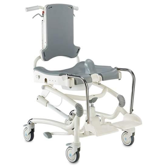 Heron sedile e bagno doccia sedia girevole - Il suo design semplice e look pulito nascondere più caratteristiche funzionali che migliorano l'esperienza di balneazione sia degli utenti e caregiver.