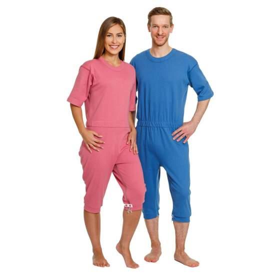 pijamas de manga curta ou longa -  incontinência pijamas de manga curta ou longa
