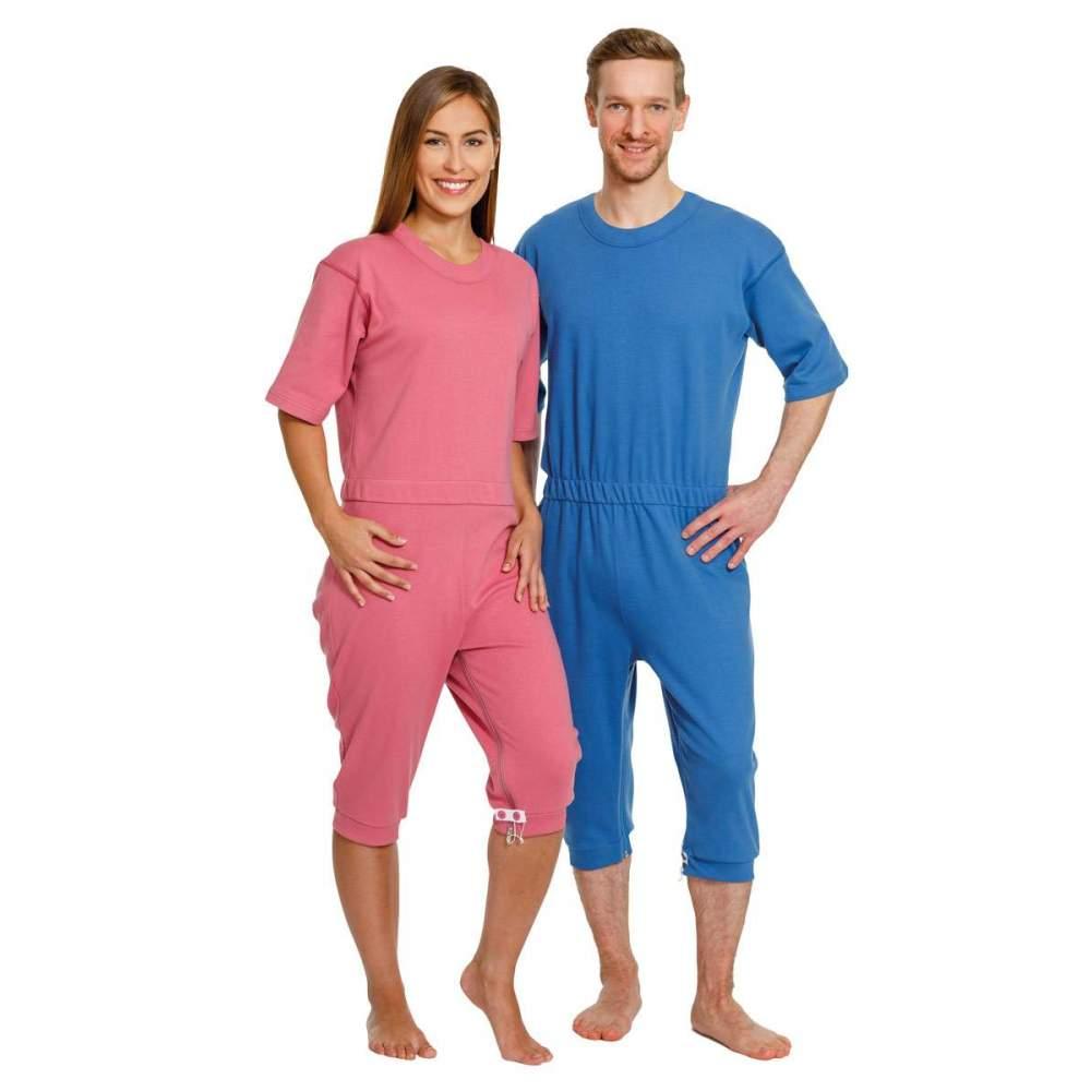 Short or long sleeve pajamas -  Short or long sleeve pajamas incontinence