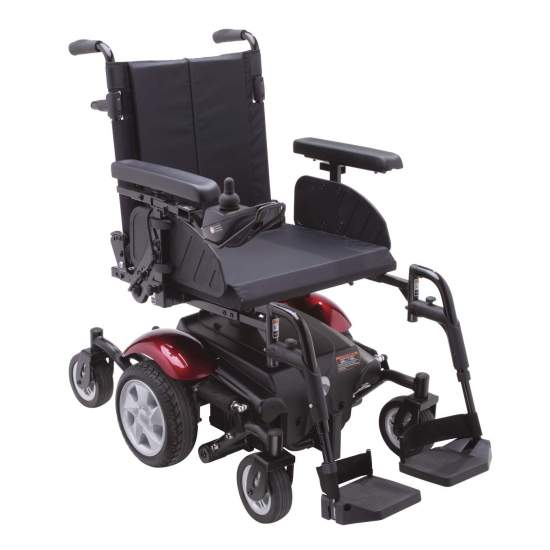 R310 en fauteuil roulant électrique