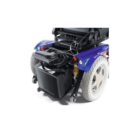 Salsa M2 - Power Wheelchair - M2 sauce stands out for its smooth and intuitive driving, and for providing a driving excpecionales results both indoors and outdoors.