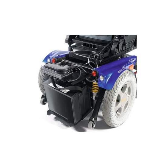 Silla Salsa R2 Quickie - La combinación perfecta entre la comodidad en el mundo interior y la libertad en el mundo exterior es la silla de ruedas eléctrica con tracción trasera Quickie Salsa R2.