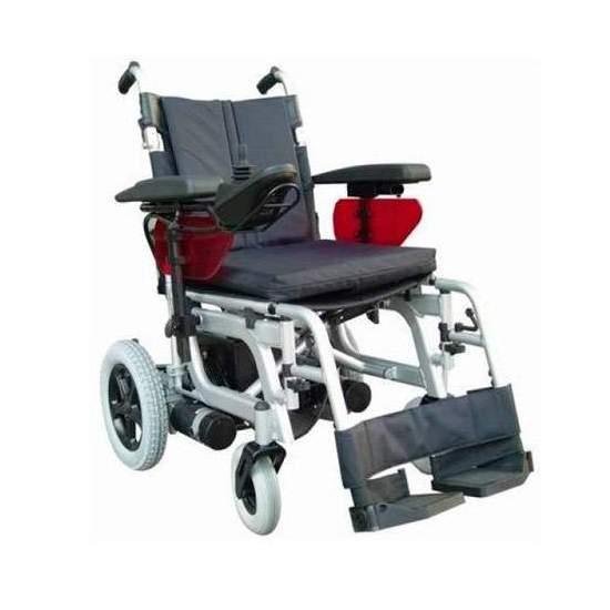 Silla de ruedas Emblema de Libercar - Todas las prestaciones y el confort a su alcance. La silla de ruedas eléctrica más competitiva del mercado.