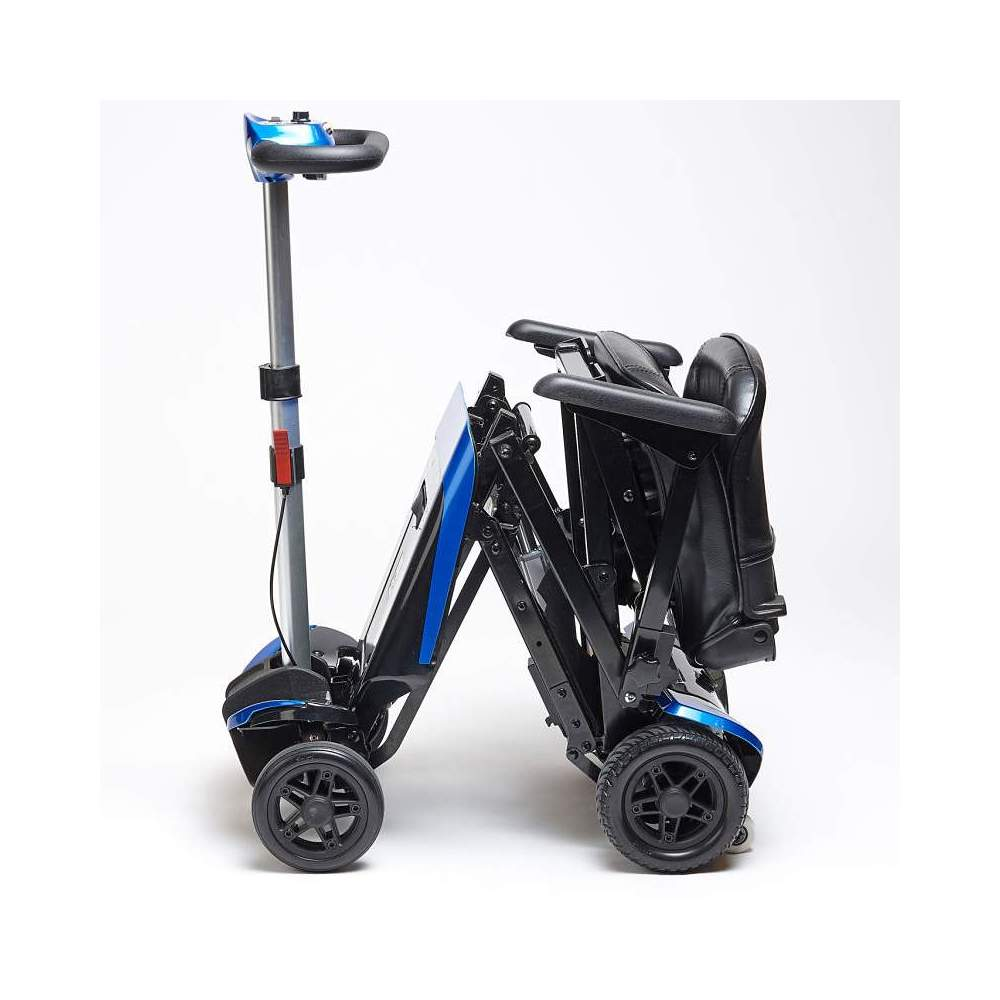 Transformer with electric folding scooter