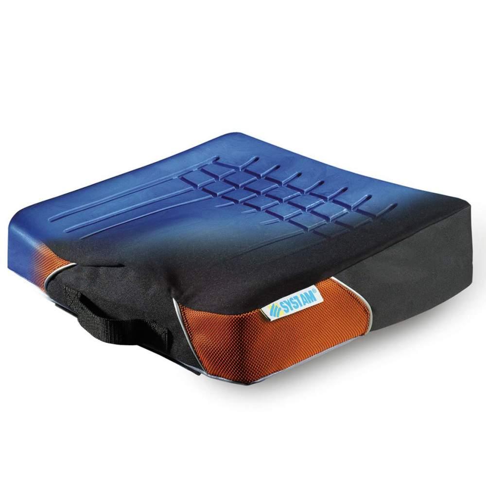 De plus ergonomique relief coussin Viscoflex C9 -  coussin anatomique en mousse viscoélastique à effet mémoire et insert ergonomique.