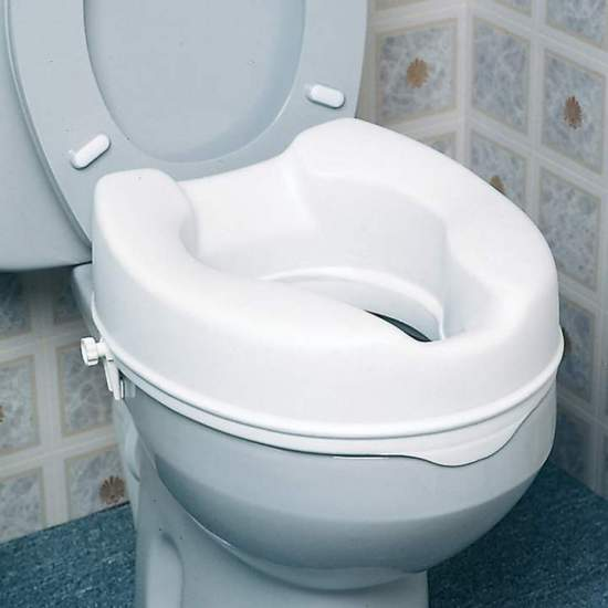 Levante WC económico 10 cm -  Elevador de altura 10 cm sem tampa